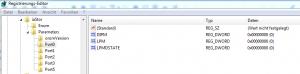 SSD Freezes Registry Einträge